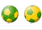Pinte e imprima bolas para entrar no clima da Copa do Mundo