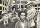 Livro traz história real de mulher negra que não cede lugar para branco