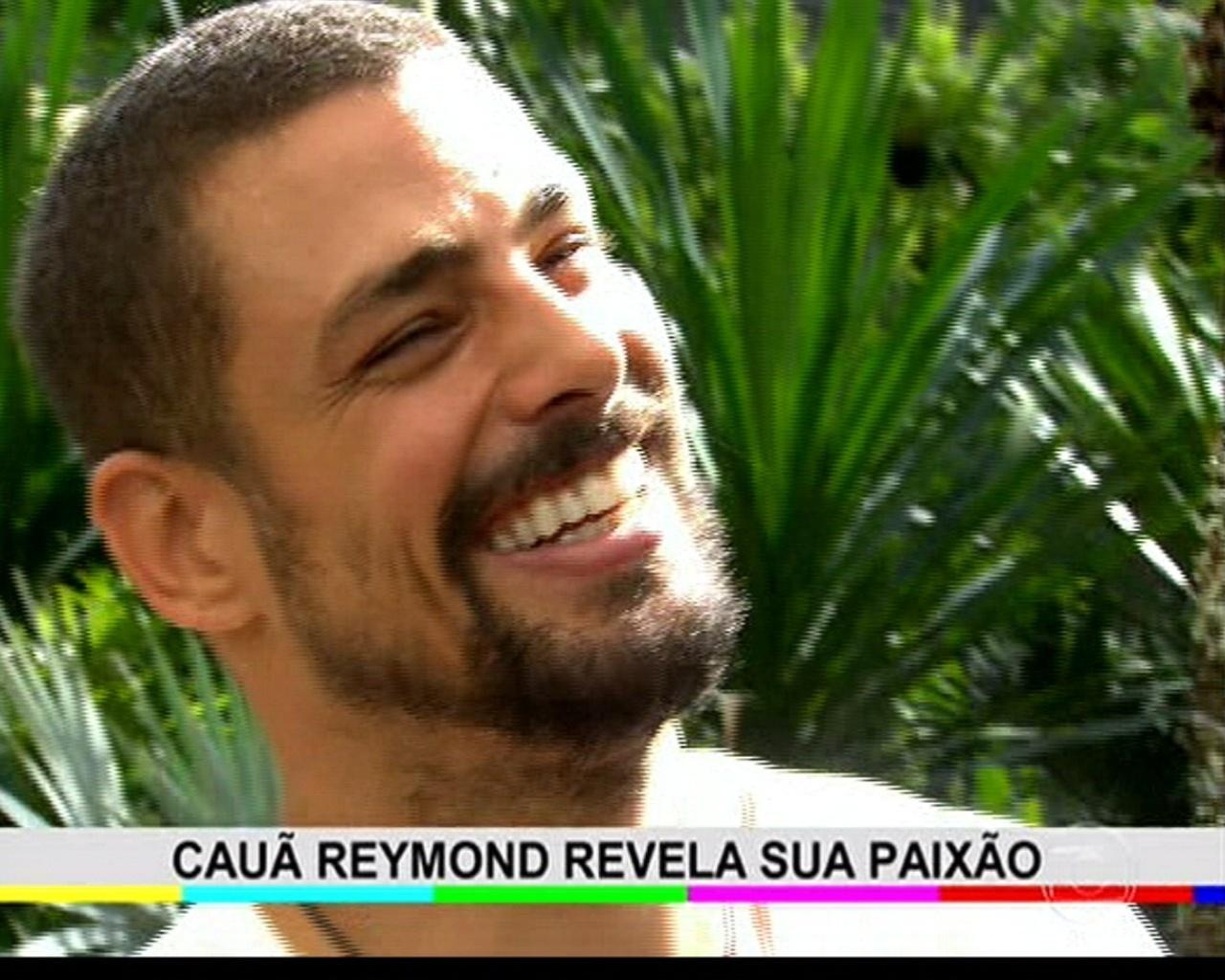 26.mai.2014 - Cauã Reymond é entrevistado no