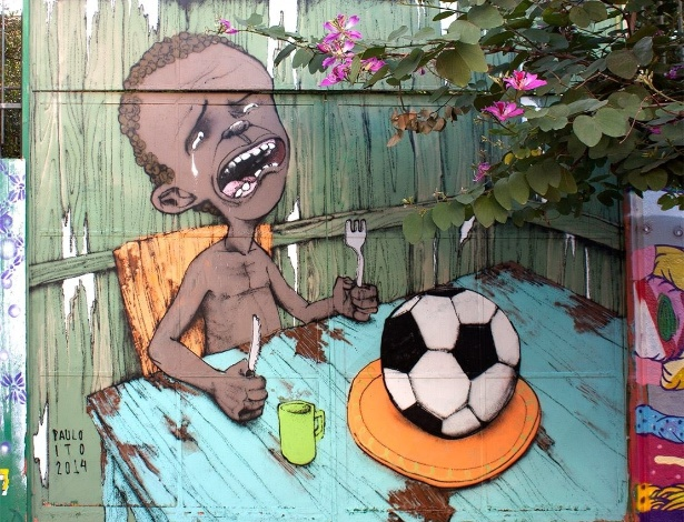 Graffiti de Paulo Ito na Vila Madalena em São Paulo - Divulgação/Paulo Ito