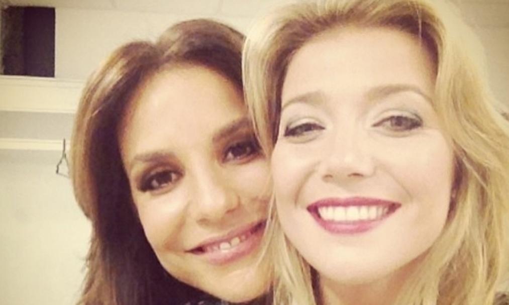 27.mai.2014 - Luiza Possi se referiu à Ivete como uma