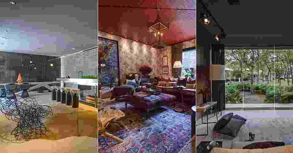 Realizada no Jockey Club de São Paulo, de 27 de maio a 20 de julho de 2014, a 28ª Casa Cor SP apresenta ao público um total de 79 ambientes, entre eles, apartamentos, lofts, casas de campo e estúdios. O UOL Casa e Decoração selecionou os dez ambientes imperdíveis e as razões para visitar a mostra. Confira! - Katia Kuwabara/Montagem UOL