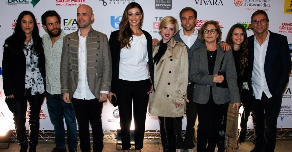 28.mai.2014 - Famosos comparecem à inauguração do filme