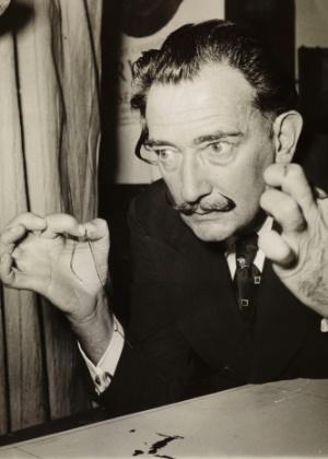 O artista Salvador Dalí - Fundación Gala-Salvador Dalí/Divulgação