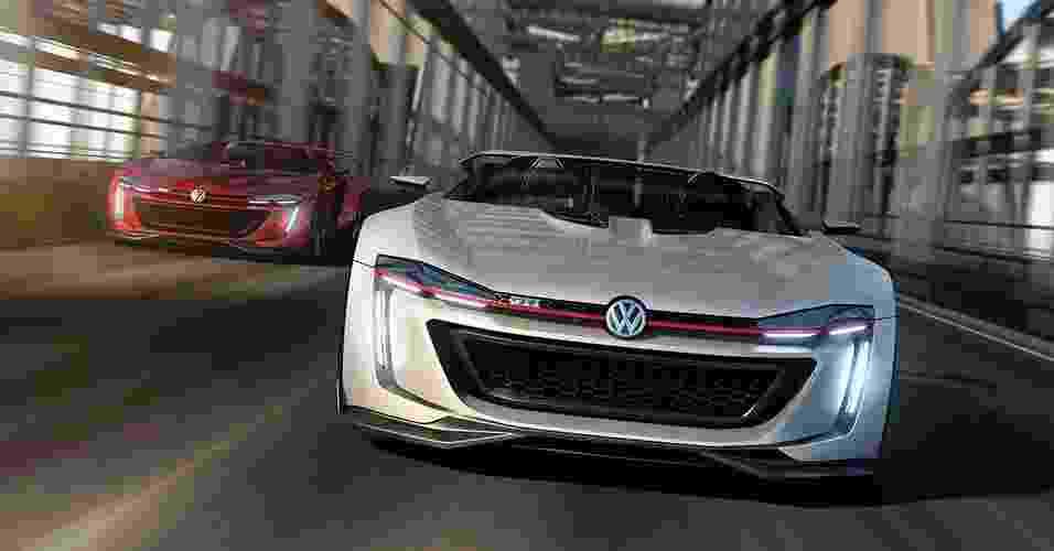 Volkswagen GTI Roadster Vision Concept - Divulgação