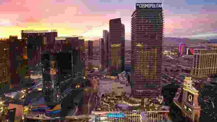 A empresa Love Cloud faz seus voos sobre a cidade de Las Vegas - REUTERS/Las Vegas Sun/Steve Marcus