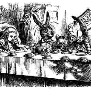 """Ilustração de John Tenniel para """"As Aventuras de Alice no País das Maravilhas"""" - Reprodução"""