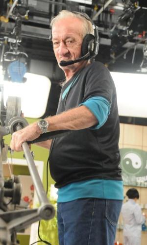Em março, Russo, assistente de palco da Globo, se aposentou depois de 46 anos de trabalho na emissora