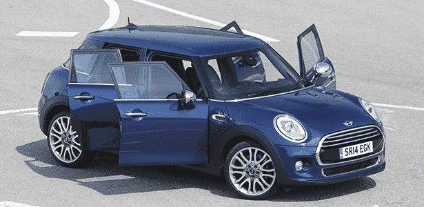 Mini Cooper 4-Portas - Divulgação - Divulgação