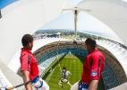 Estádio da Copa da África é atração para famílias e viciados em adrenalina - Divulgação/South African Tourism