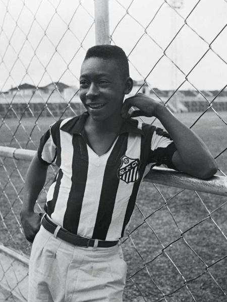 Primeiro dia no Santos, em 1956 - José Dias Herrera