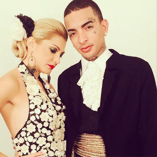 4.jun.2014 - Antonia Fontenelle encarna a bailarina de flamenco Eva Yerbabuena ao lado do funkeiro MC Guimê que se veste do bailarino espanhol Farruquito