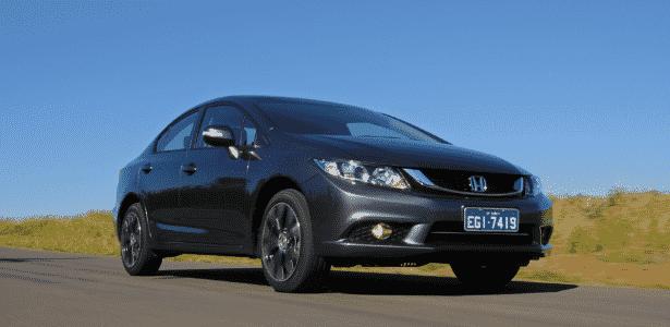 Honda Civic LXR 2015 - Murilo Góes/UOL - Murilo Góes/UOL