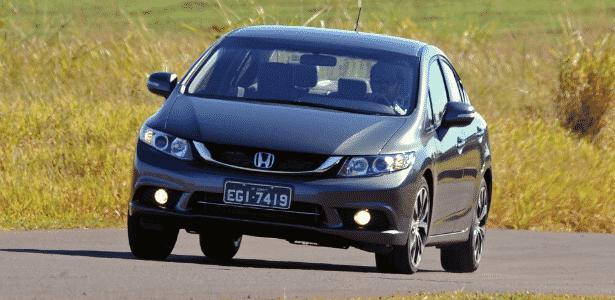Além do Civic 2015 (imagem), estão no chamado as linhas de 2012 a 2014, e também o SUV CR-V 2012 e o sedã Accord 2003 - Murilo Góes/UOL