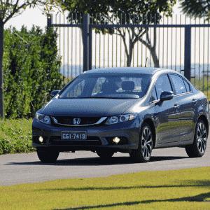 Honda Civic LXR 2015 - Murilo Góes/UOL