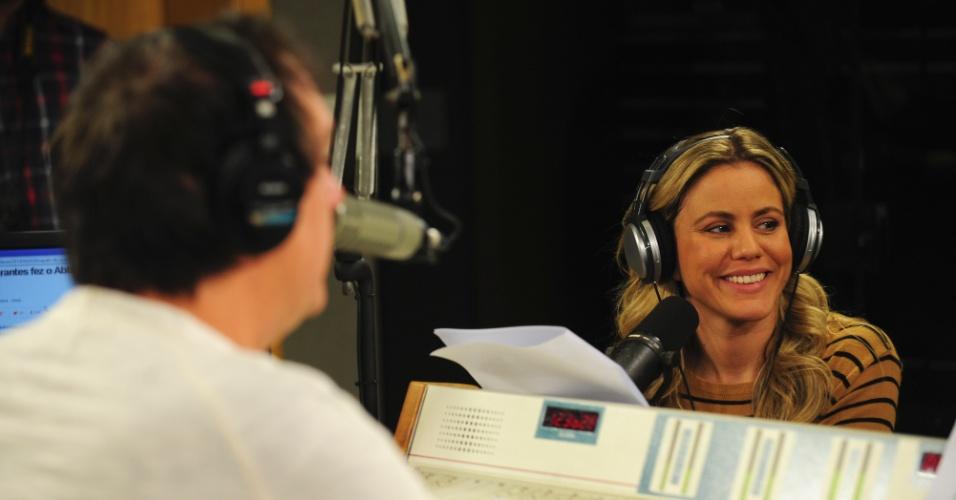 """5.jun.2014 - """"Só quando eu falo putaria que eu me divirto. Só gosto de falar putaria"""", diz Marina Mantega, filha do ministro da Fazenda, Guido Mantega"""
