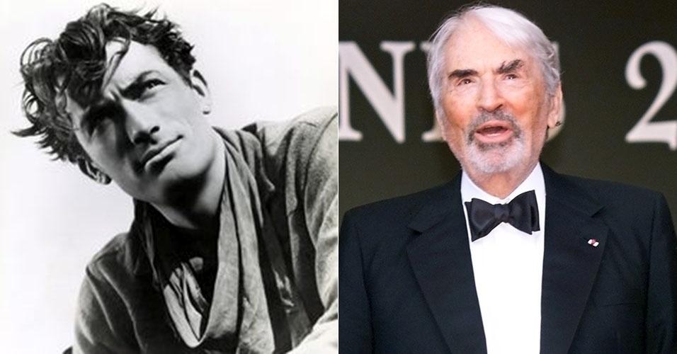 antes e depois - Gregory Peck