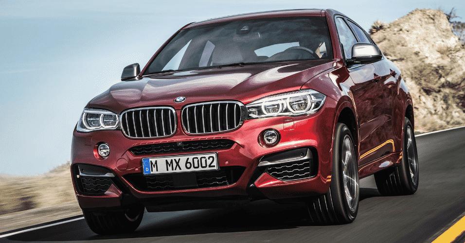 BMW X6 2015 - Divulgação