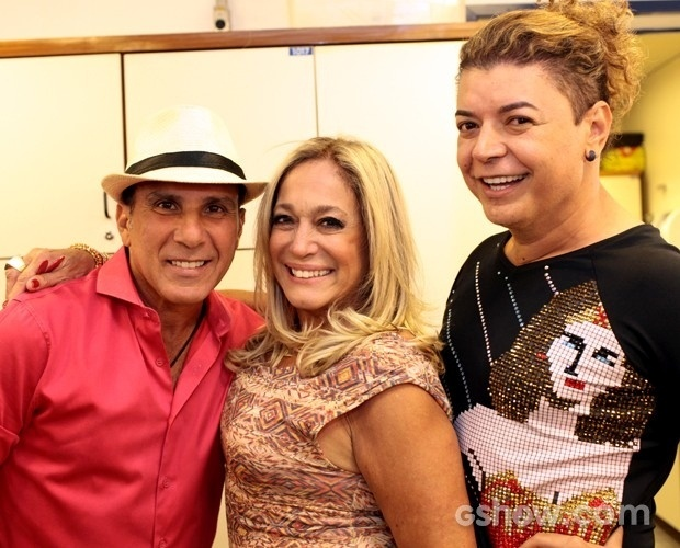 Eri Johnson, Susana Vieira e David Brazil participaram do
