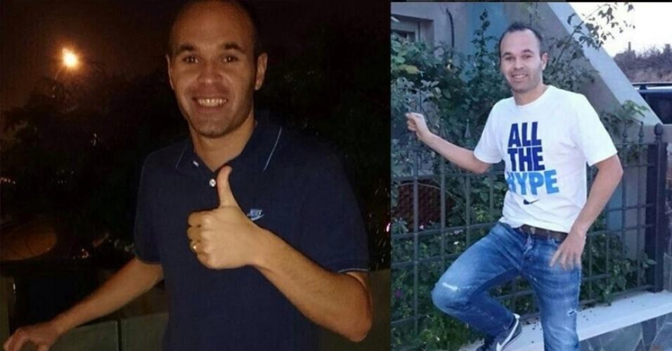 Aos 30 anos, Iniesta é um dos bonitões da Espanha