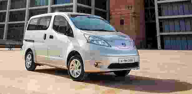Nissan e-NV200 frente - Divulgação - Divulgação