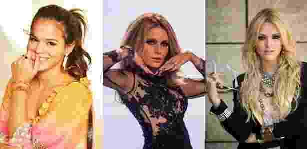 Os esmaltes de Bruna Marquezine, Cláudia Abreu e Isabelle Drummond entraram na lista - Divulgação/TV Globo