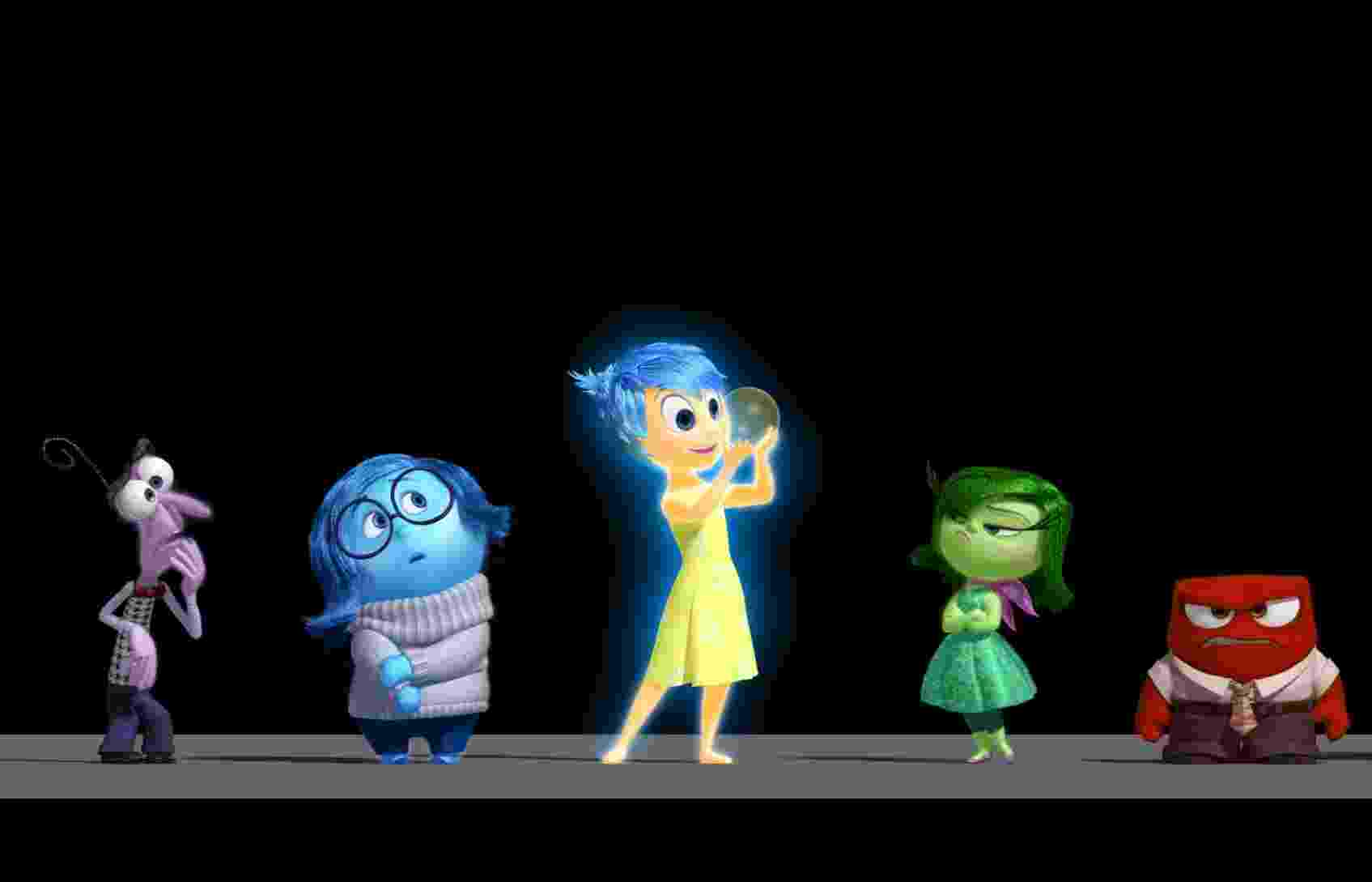 """Imagens de divulgação de """"Inside Out"""", nova animação da Pixar que estreia em junho de 2015 - Divulgação/Pixar"""
