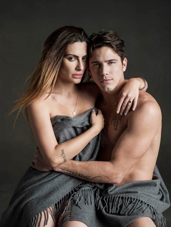 Os atores Cleo Pires e Rômulo Neto namoram desde 2013