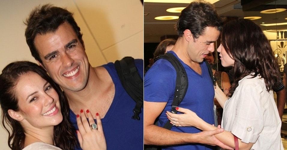 Os atores Paola Oliveira e Joaquim Lopes são namorados