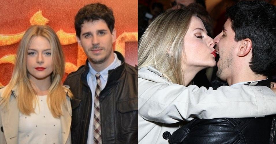Os atores Vitória Frate e Pedro Pedro Neschling moram juntos, mas não são casados