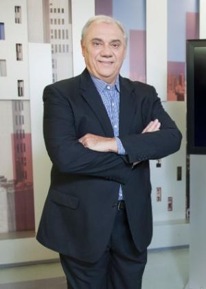 """Marcelo Rezende comanda o """"Cidade Alerta"""" desde 2012"""
