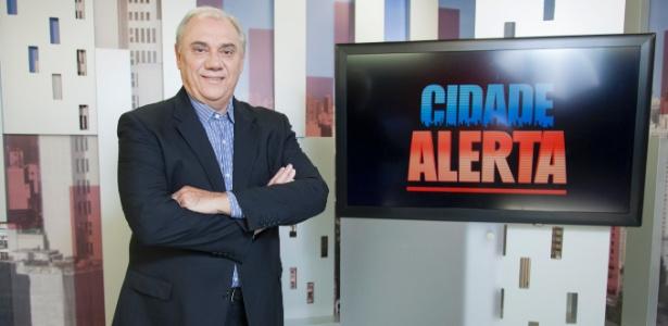 """Marcelo Rezende comanda o """"Cidade Alerta"""" - Edu Moraes/Record"""
