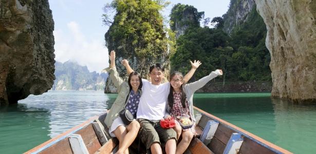 A viagem permite aumentar o clima de intimidade da família e expressar mais os afetos - Getty Images