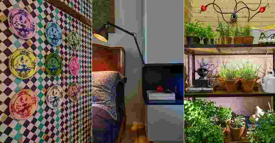 Quem visita uma mostra de decoração pode sair com a impressão de que as composições são muito sofisticadas e elaboradas, a ponto de considerar difícil adaptar as ambientações às casas comuns - Katia Kuwabara/Montagem UOL