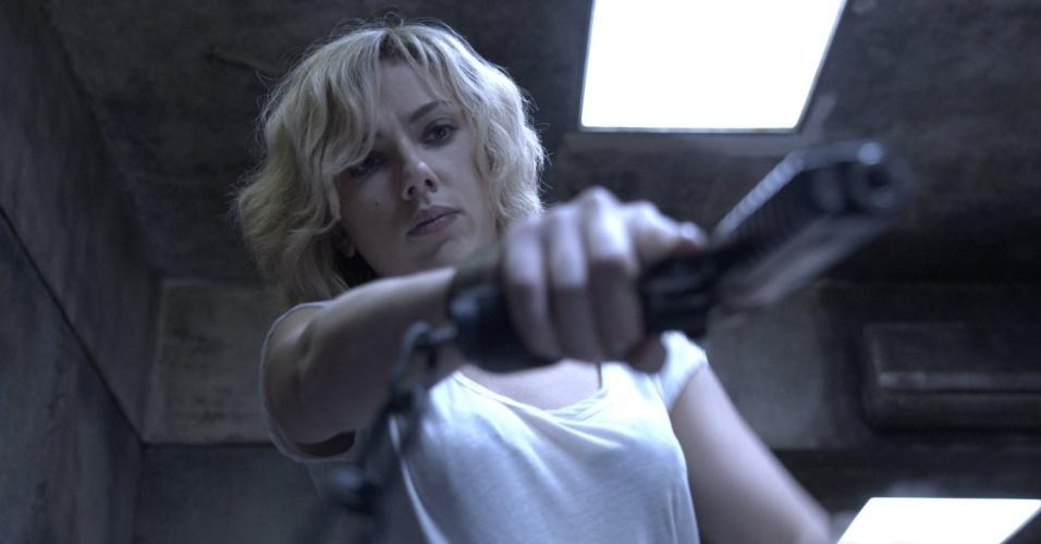 Scarlett Johansson em cena de