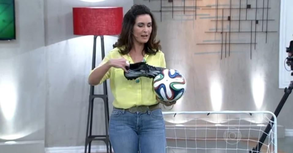 13.jun.2014 - Fátima Bernardes