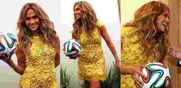Jennifer Lopez veste Lethicia Bronstein em passagem pelo Brasil - Divulgação