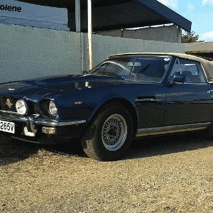 Aston Martin V8 dos anos 1960 nas 24 Horas de Le Mans - Leonardo Felix/UOL