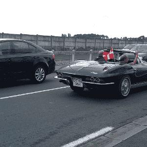Chevrolet Corvette Stingray dos anos 1960 nas 24 Horas de Le Mans - Leonardo Felix/UOL