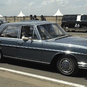 Mercedes-Benz Classe S dos anos 1960 nas 24 Horas de Le Mans - Leonardo Felix/UOL