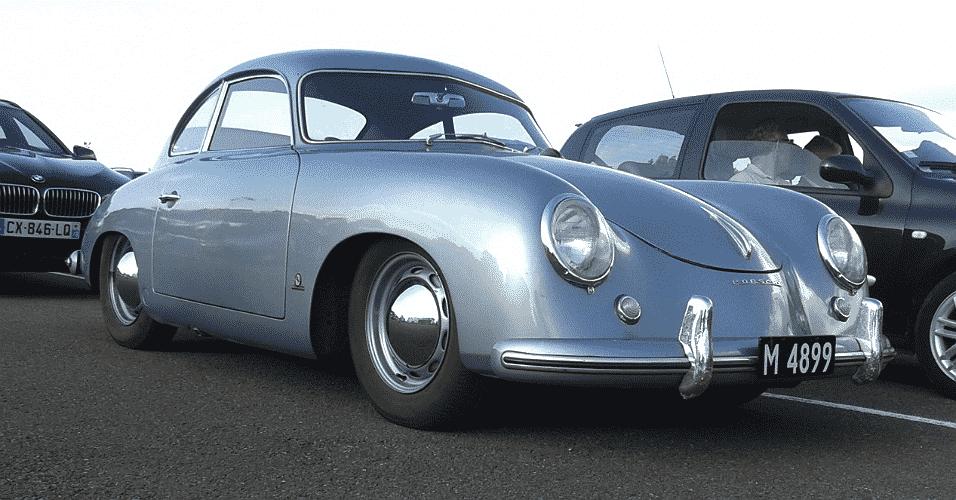 Porsche 356 dos anos 1950 nas 24 Horas de Le Mans - Leonardo Felix/UOL
