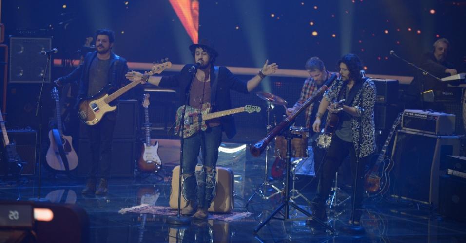 """15.jun.2014 - A banda Suricato também teve 76% dos votos do público, ficando entre as sete finalistas do """"SuperStar"""""""