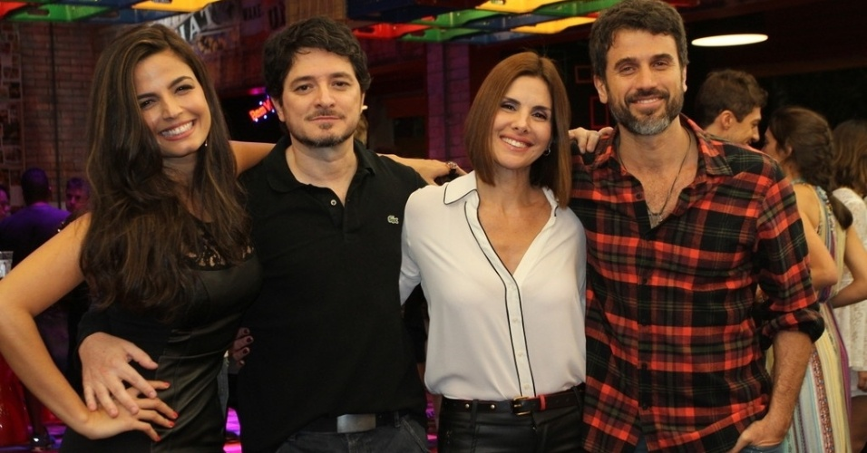 16.jun.2014 - Elenco da nova temporada de