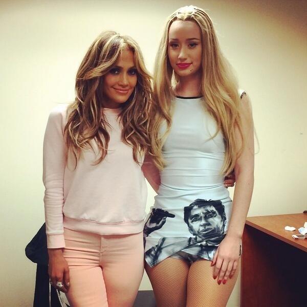 Jennifer Lopez e Iggy Azalea posam juntas após falha no show