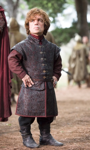 "Tyrion Lannister, personagem de Peter Dinklage em ""Game of Thrones"""