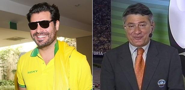 Thiago Lacerda criticou Cléber Machado no Facebook