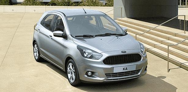 Novo Ford Ka - Divulgação - Divulgação