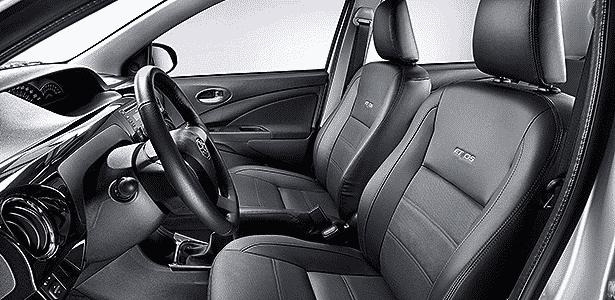 Toyota Etios Platinum cabine - Divulgação - Divulgação