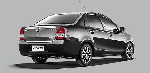 Toyota Etios Platinum sedã - Divulgação - Divulgação