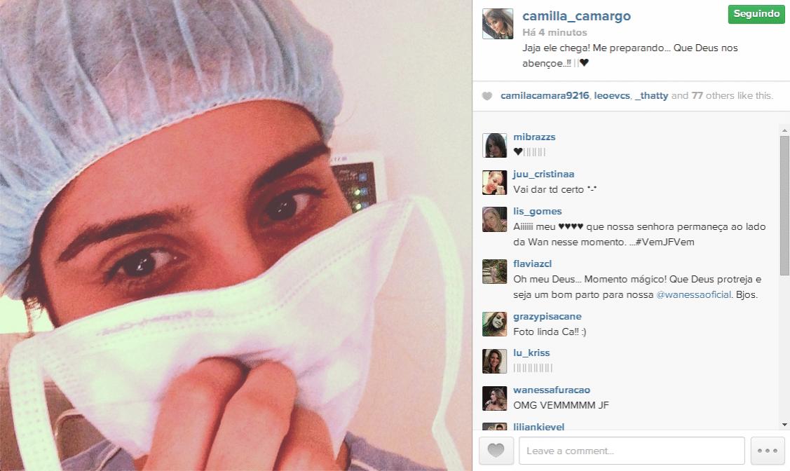 19.jun.2014 - Camilla Camargo aguarda o nascimento do segundo sobrinho, João Francisco, filho da cantora Wanessa.